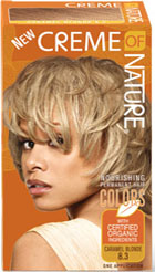 Creme of Nature Women's Gel Color Caramel Blonde 8.3