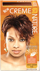 Creme of Nature Women's Gel Color Sunset Brown 4.5