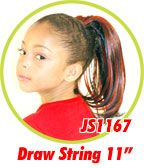 Beauti Collection Synthetic Kids Drawstring Ponytail JS1167