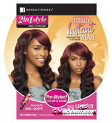 Sensationnel Totally Instant Weave 2 in 1 Synthetic Wig