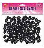 BT Pony OH's Small Black (100 count)