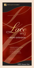 Sensationnel 100% Human Hair Lace Front Wig