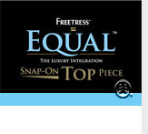 Freetress Equal Snap On Top Piece