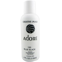 Adore Semi-Permanent Rinses #130 BLUE BLACK 4oz