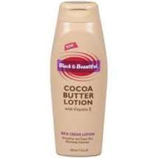 Black & Beautiful Cocoa Butter Lotion 17oz