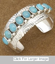 Indian Turquoise Jewelry - 0696-BR