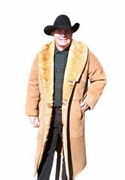 Mens Sheepskin Coat - The Montana - Click to enlarge