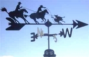 Horse Weathervane - Team Ropers - Click to enlarge