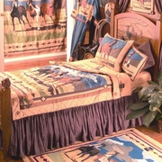 Western Bedding Sets On Sale - Wild Horses - Click to enlarge