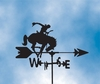 Horse Weathervane - Bucking