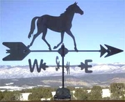 Farm Weathervane - Running Horse - Click to enlarge