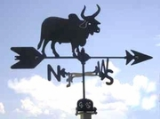 Bull Weathervane - Brahma  - Click to enlarge