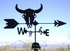 Farm Weathervane - Buffalo Skull