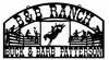 Horse Ranch Signs - 010