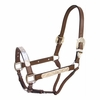 Leather Silver Show Halter - 22302