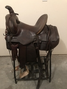 Mountain Riding Saddle - Click to enlarge