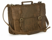 Rugged Leather Briefcase - Aerosquadron - Click to enlarge