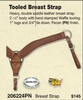 Roping Breast Collar - 206224PN