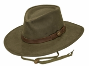 Oilskin Hat - Kodiak with Mesh - Click to enlarge