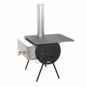 Camping Wood Stove - Yukon Package - Click to enlarge