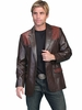 Mens Western Dress Jackets - Ostrich 650