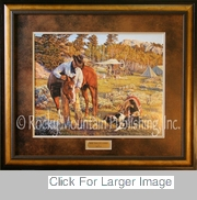 Western Art  Prints - More Than Just A Horse