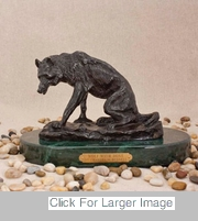 Charles Russell Art For Sale - Wolf With Bone