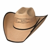 Custom Straw Cowboy Hats - Cowboy Cut