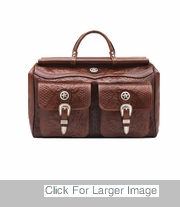 Tooled Western Luggage - 0210739