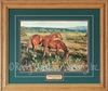 Western Framed Prints - Sorrels In The Sun