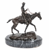 Charles M Russell Bronzes - Will Rogers