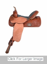Barrel Saddle - 1214