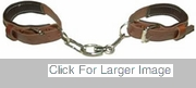 Leather Hobbles - Chain
