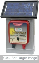 Solar Powered Fence Charger - 25 MIle