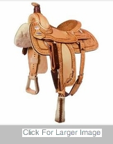 David Motes Roping Saddle by Billy Cook Saddlery