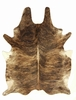 Brazilian Cowhide Rugs - Medium Brindle