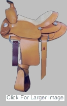 Alamo Youth Saddle -1101