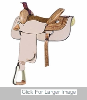 MOTES HALF BREED ROPER BY BILLY COOK SADDLERY