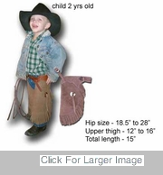 Kids Western Chaps - 2 year old