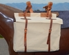 Canvas & Leather Panniers