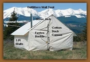 Canvas Stove Tents - 18x23 - Click to enlarge
