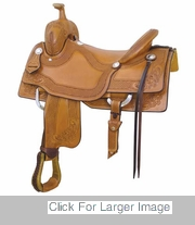 LARAMIE RANCH CUTTER BY BILLY COOK SADDLERY