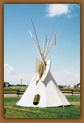 American Indian Tipis - 14 Ft - Click to enlarge