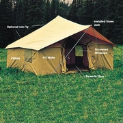 Camping Wall Tents - Click to enlarge