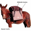 Sawbuck Pack Saddles -  Not-A-Knot System