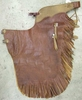 Cowboy Leather Chaps - In Stock