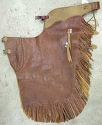 Cowboy Leather Chaps - In Stock - Click to enlarge