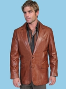 Mens Western Dress Jackets - 501AB - Click to enlarge