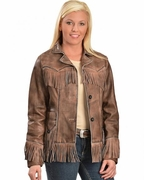 Women's Western Jackets - Lamb - Click to enlarge