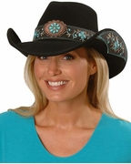 Womens Felt Cowboy Hats - All for Good - Click to enlarge